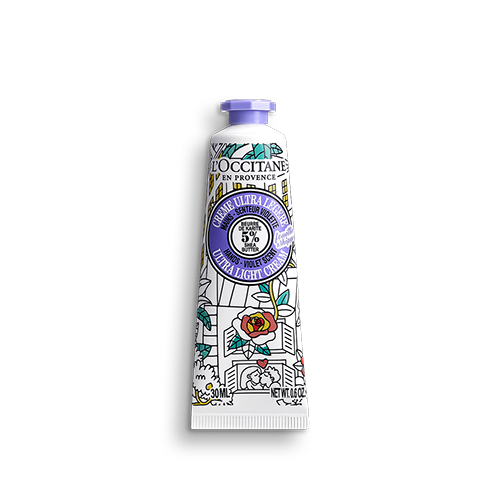 Crème Mains Karité Ultra Légère Fouettée Senteur Violette OMY pour L'OCCITANE 30 ml