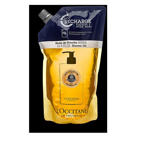 Eco-Recharge Huile de douche Karité 500 ml