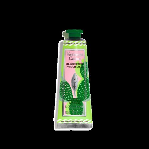 Gel & Crème Mains Verveine Cactus 30ml