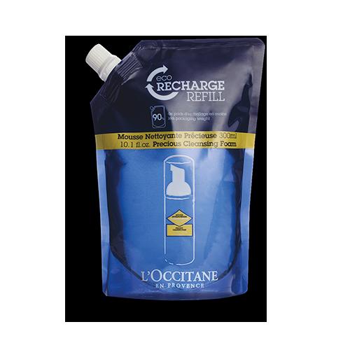 Recharge Mousse Nettoyante Précieuse Immortelle 300 ml