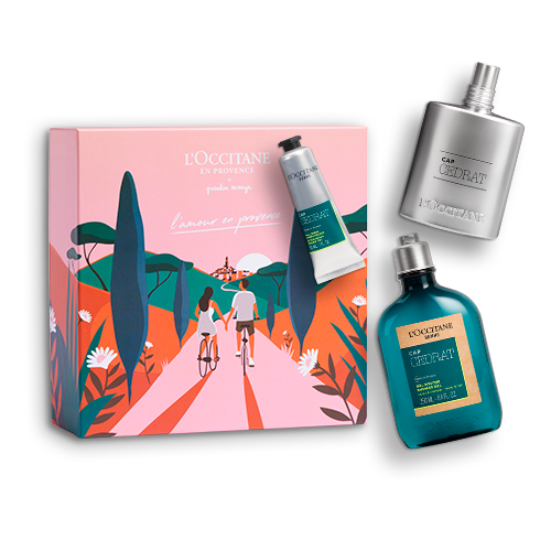 Coffret Cadeau Parfum Cap Cédrat