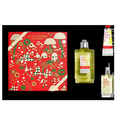 Coffret Cadeau Parfum Osmanthus