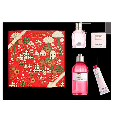 Coffret Cadeau Parfum Rose