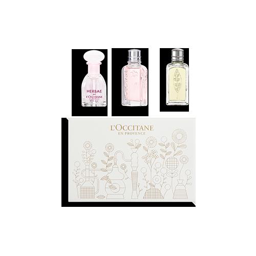 Coffret Découverte Trio de Parfums