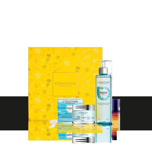Coffret Soins Visage Hydratation & douceur Aqua Réotier