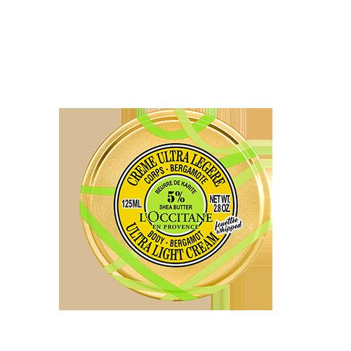 Crème Corps Ultra Légère Karité Bergamote 125ml