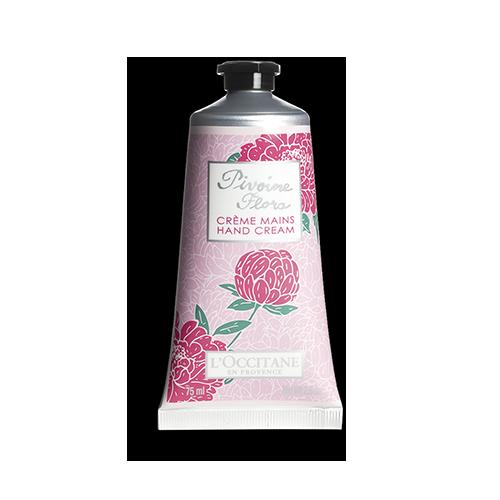 Crème Mains Pivoine Flora 75 ml