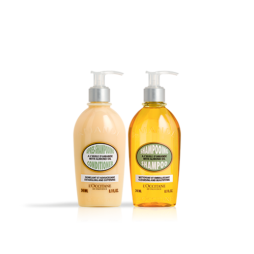 Duo Shampoing et Après-Shampoing Amande