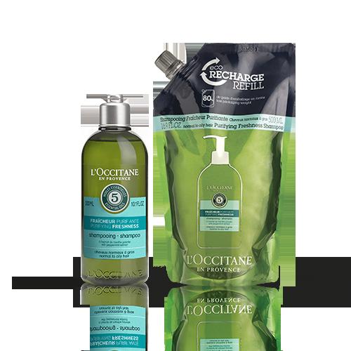 Duo Shampooing Fraicheur Purifiante 300ml + 500ml