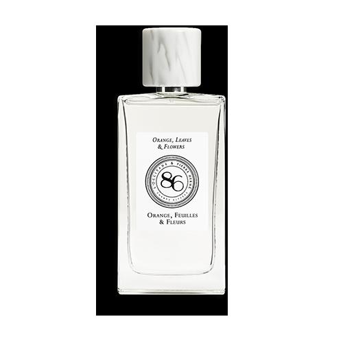 Collection de Parfums 86 Champs – Orange, Feuilles et Fleurs