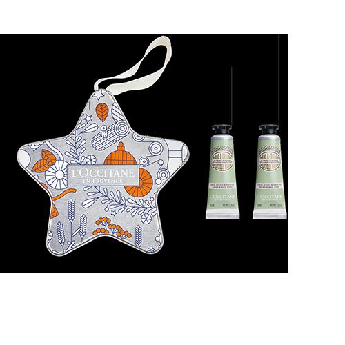 Étoile de Noël Duo de Crèmes Mains Amande