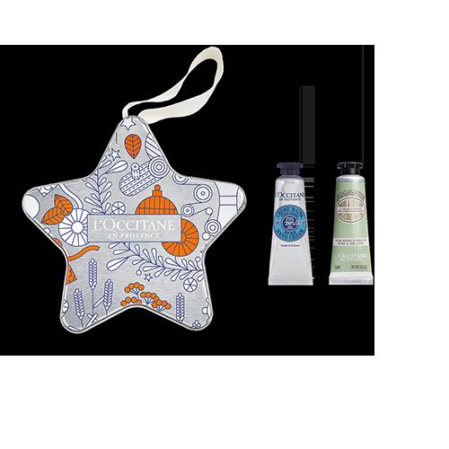 Étoile de Noël Duo de Crèmes Mains Karité & Amande