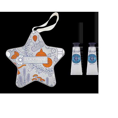 Étoile de Noël Duo de Crèmes Mains Karité