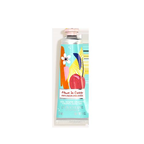 Gel Mains Granité - Fleurs de Cerisier Infusion Fruitée 30ml
