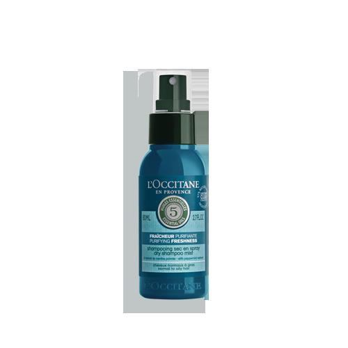 Shampoing sec en Spray Fraîcheur Purifiante 80ml