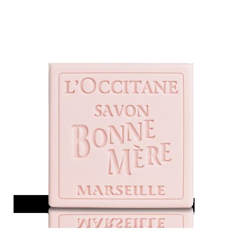סבון טבעי מוצק בון מר - וורדים