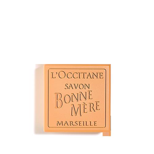 סבון טבעי מוצק בון מר - מנדרינה & לימון