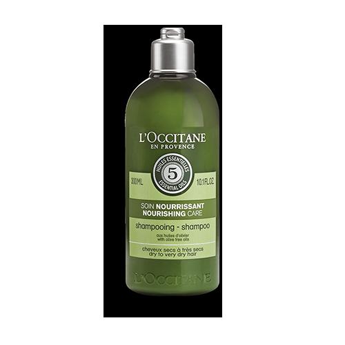 שמפו שמן זית מזין לשיער יבש