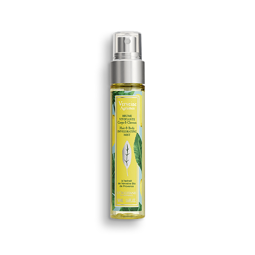Citrus Verbena body hair mist