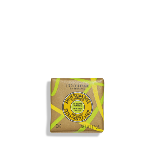 Shea Butter Bergamot Extra-Gentle Soap