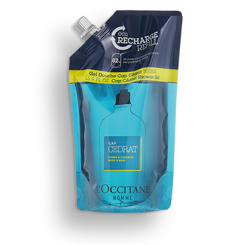 Cap Cedrat Shower Gel Refill