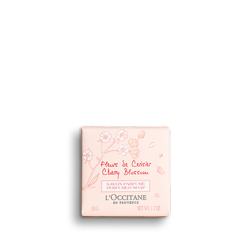 Cherry Blossom Perfumed Soap 50g