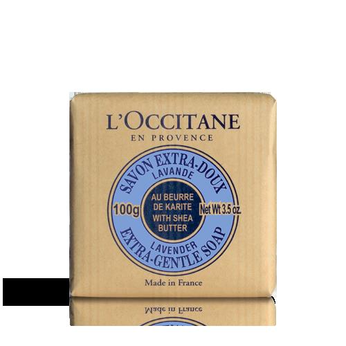 Ekstranježni sapun s karite maslacem Prava lavanda