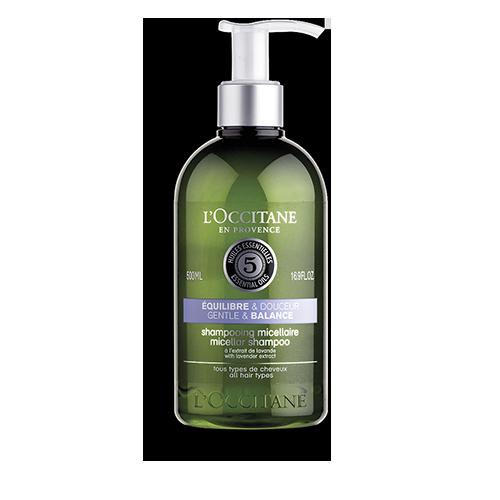 Nježni micelarni šampon za ravnotežu vlasišta