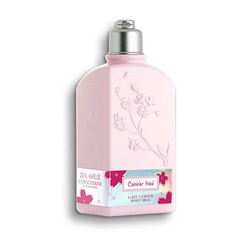 Cherry Blossom Cerisier Irisé Body Milk