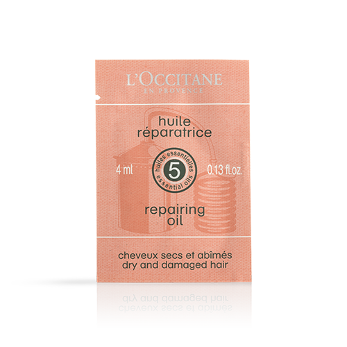 Sample Repairing Hair Oil