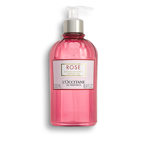Gel doccia al profumo di Rosa 500ml