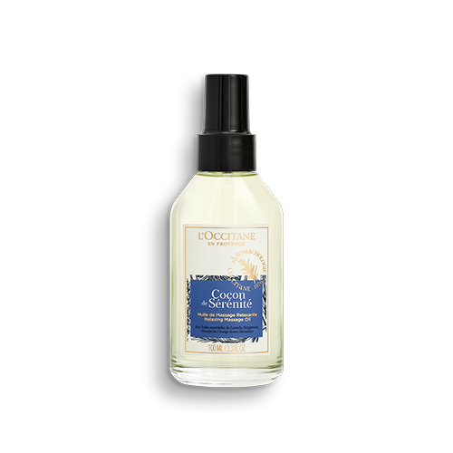 Olio da massaggio rilassante Coccole di Serenità