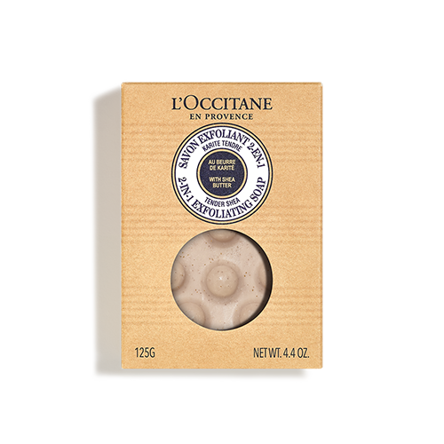 Sapone esfoliante 2 in 1 Karité 125g