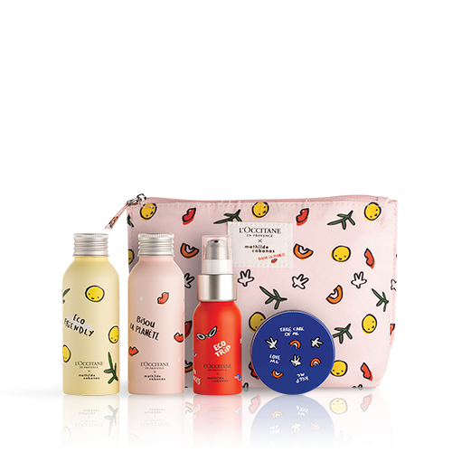 Eco Travel Bottle Set