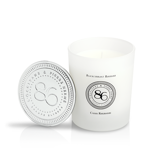 Fragranced candle Blackcurrant & Rhubarb