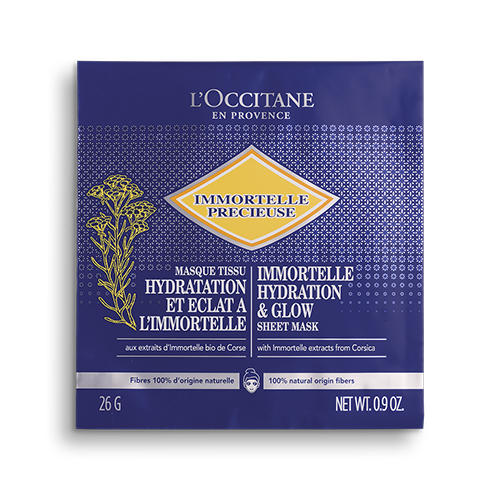 Immortelle Hydrating And Glow Sheet Mask