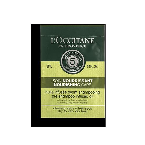 Sample  - nourishing oil for hair