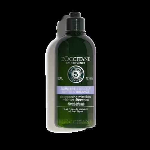 Švelnus subalansuojantis plaukų šampūnas