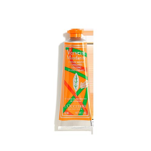 Verbenų - mandarinų rankų kremas