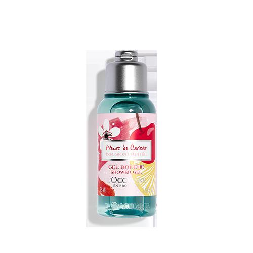 Vyšnių žiedų ir vaisių dušo želė