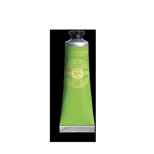 Крем для рук с маслом ши - освежающий лайм