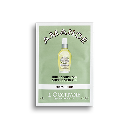 Sample, Almond supple skin oil, 6ml