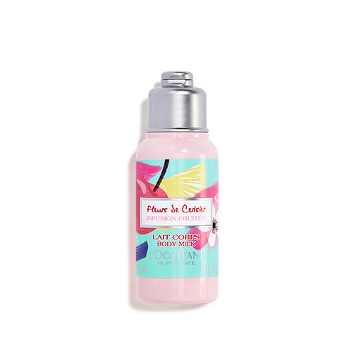 "Cherry blossom body lotion ""INFUSION FRUITÉE"""