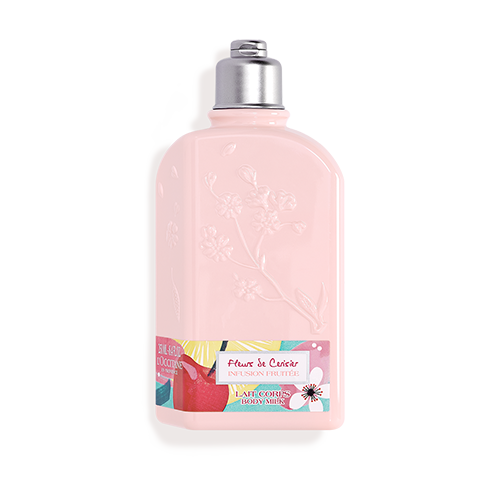 """Cherry blossom body lotion """"INFUSION FRUITÉE"""""""