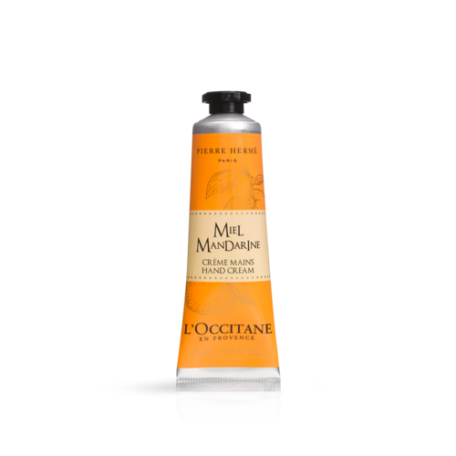 Pierre Herme hand cream Honey-mandarin