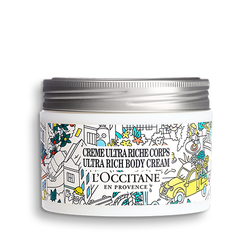 Limited edition design Shea Butter Ultra Rich Body Cream