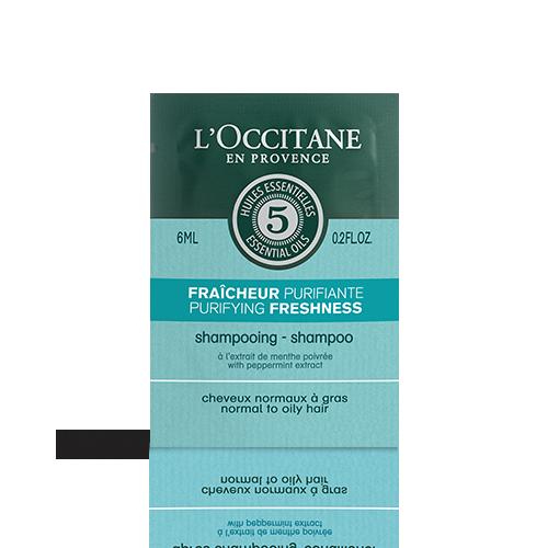 Paraugs- Atsvaidzinošs un attīrošs šampūns, 6ml