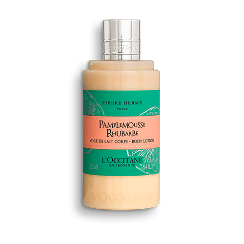 PIERRE HERME BODY LOTION WITH RHUBARB