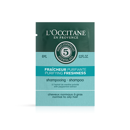 Sample - Purifying freshness shampoo, 6ml