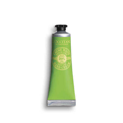 Shea butter hand cream zesty lime